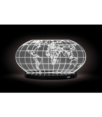 Lampada da tavolo COLOMBO cm 32 B/NERA Vesta
