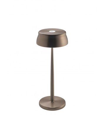LAMPADA SISTER LIGHT RAME ricaricabile ZAFFERANO