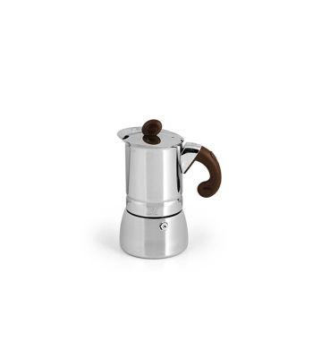 Caffettiera Lilli inox tz 4 Induzione Habi