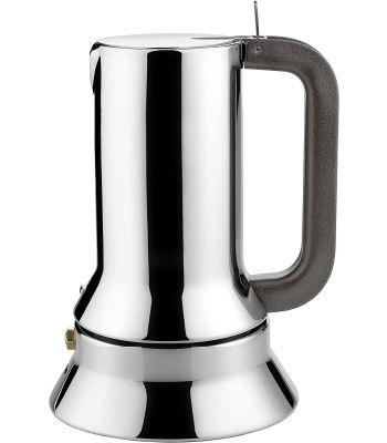 Caffettiera Espresso 1 tz in Acciaio Lucido ALESSI