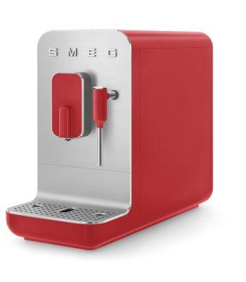 Macchina da Caffè Espresso Automatica BCC02RDMEU Rossa SMEG