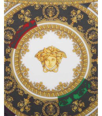 Segnaposto/Piatto parete cm 33 I LOVE BAROQUE AND ROLL VERSACE ROSENTHAL