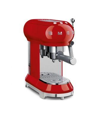 Macchina da caffè espresso Smeg Rossa