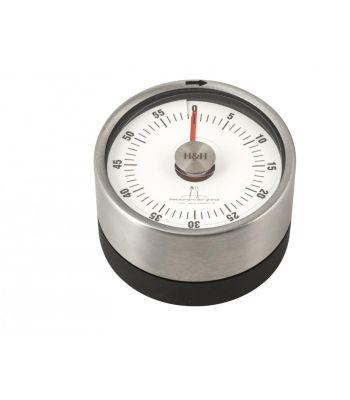 Timer magnetico in acciaio ø 6 cm Alessandro Borghese
