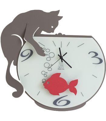 Orologio parete Tommy and Fish Fango ARTI E MESTIERI