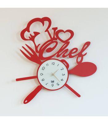 Orologio -I Love Chef- Arti e Mestieri