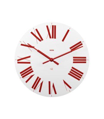 Orologio da parete - FIRENZE BIANCO-ROSSO ALESSI