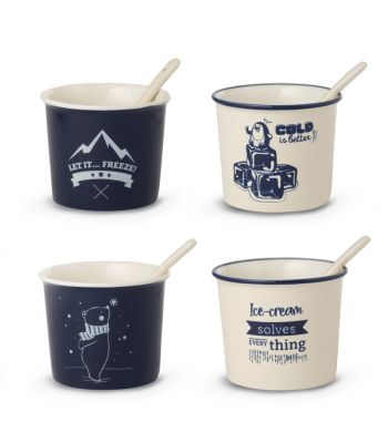 Set 4 coppette gelato WDlifestyle