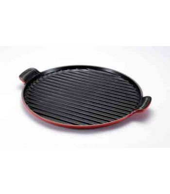 GRILL ROTONDO EXTRALARGE GHISA cm 32 ROSSO LE CREUSET